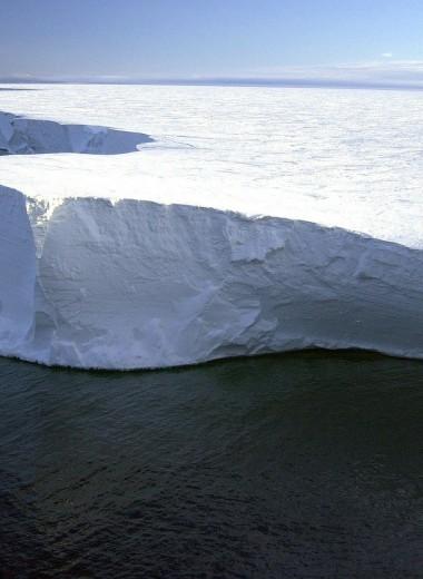 Последний нетронутый шельфовый ледник в канадской Арктике потерял почти половину площади за два дня