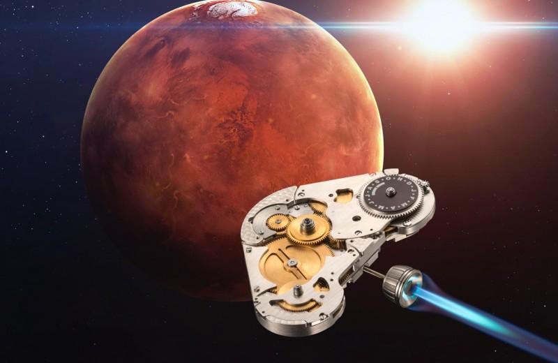 Наручные механические часы с марсианским временем: детище Константина Чайкина