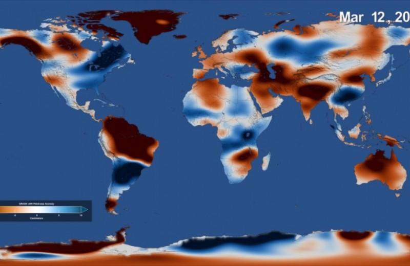 Где больше всего пресной воды? А где меньше?