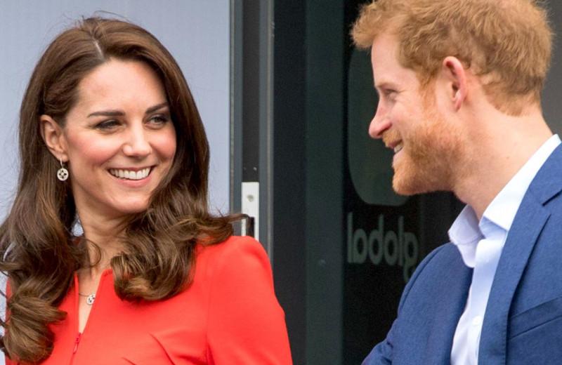 «У моего брата очень красивая жена»: как принц Гарри полюбил Кейт Миддлтон