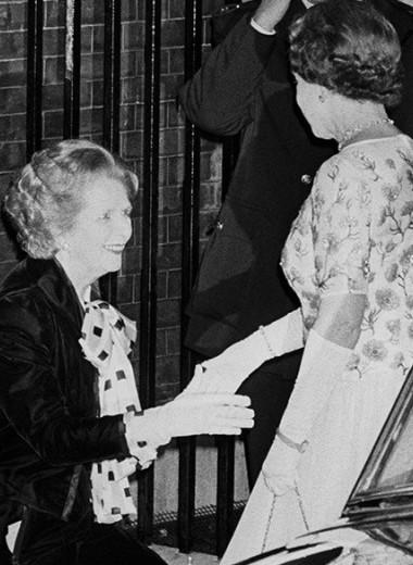 Не как в кино: что мы знаем об отношениях Елизаветы II и Маргарет Тэтчер