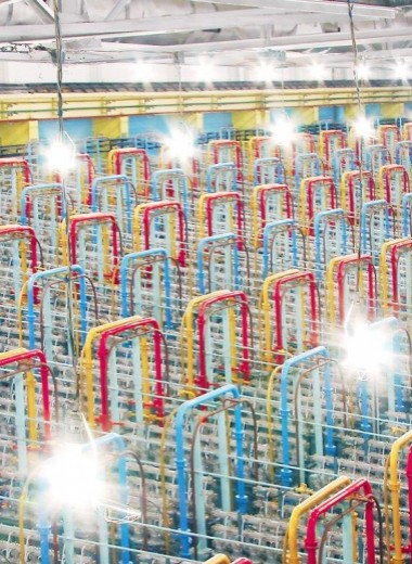 Как обогащают уран: метод центрифужного разделения изотопов