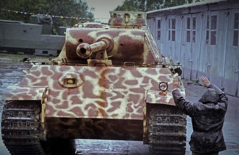 Трофей противника: тест-драйв танка