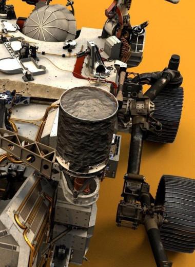 Зачем марсоходу лазер: свет далеких планет