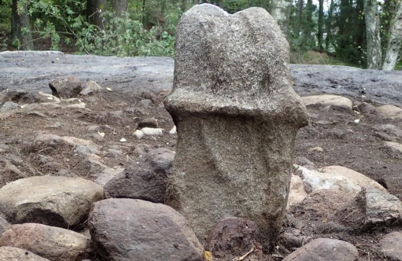 Гигантский каменный пенис найден в Швеции