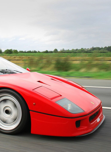 Дьявол во плоти Ferrari F40 или как обогнать Porsche и умереть