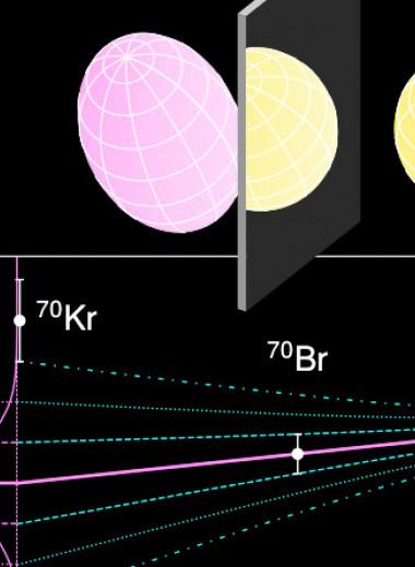 Зеркальные ядра продемонстрировали сильное нарушение симметрии