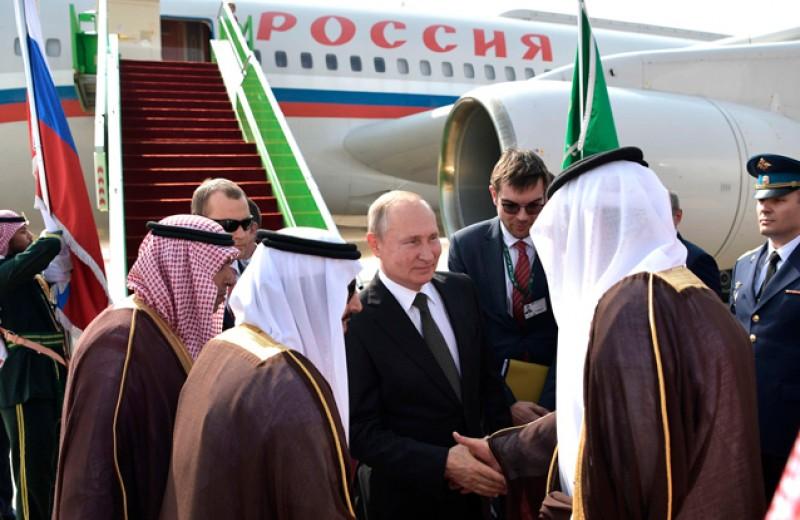 Русский медведь и арабские львы. Зачем Путин летал в гости к монархам Ближнего Востока