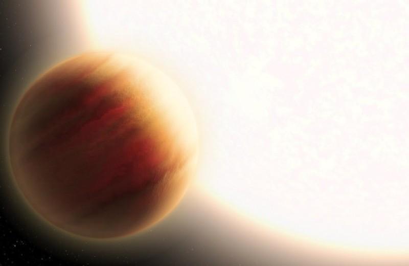 В атмосфере горячего юпитера не нашли рэлеевского рассеяния