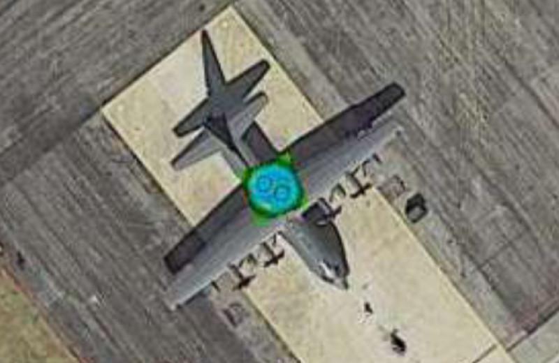 «Кислотные» стикеры сделали самолеты невидимыми для нейросетей