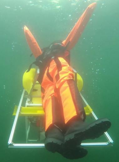 В Германии испытали робота, всплывающего со дна для спасения утопающих