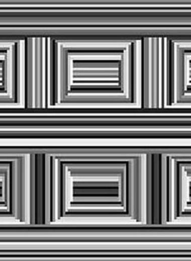 Оптическая иллюзия: сколько кругов на изображении?