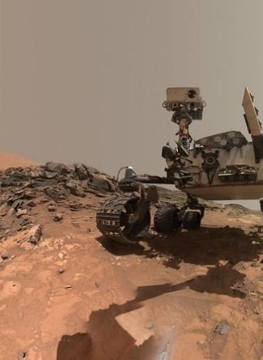 На Марсе нашли залежи богатых органикой сланцев