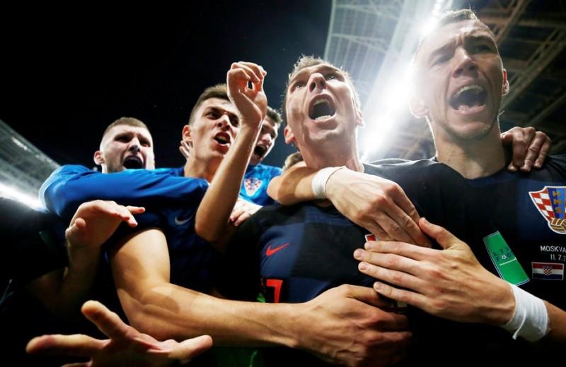 В соцсетях обсуждают победу сборной Хорватии в полуфинале ЧМ-2018