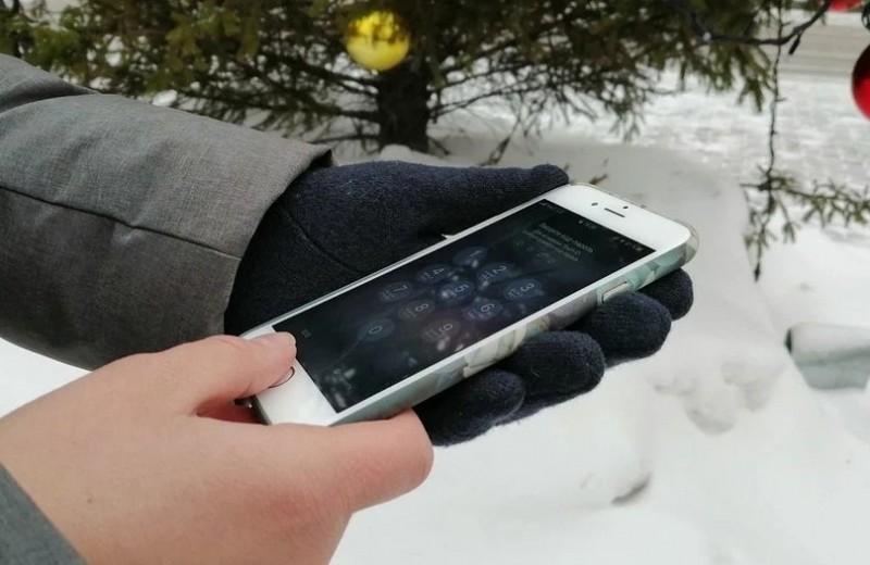 Айфон отключается на морозе: что делать?