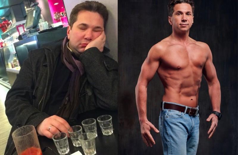 Такого не бывает: как пьющий толстяк стал фитнес-моделью