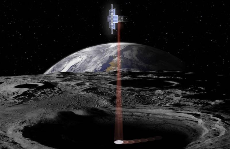 «Лунный фонарик» будет искать воду в древних кратерах нашего спутника