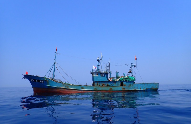Спутники помогли уличить китайских и северокорейских рыбаков в незаконном промысле