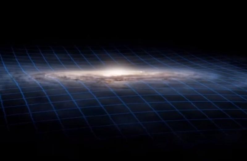 Края Млечного Пути загадочно деформируются. Возможно, из-за столкновения с другой галактикой