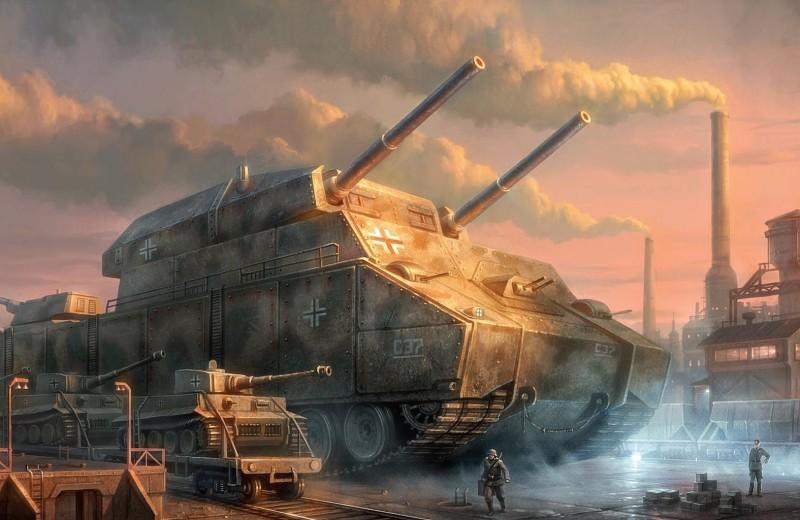 Проект сверхтяжелого танка: каким бывает оружие пропаганды