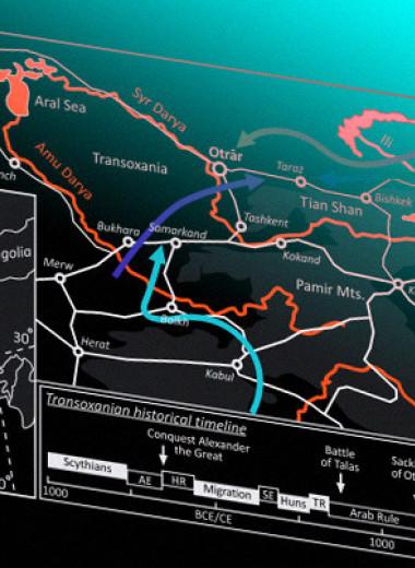 Изменение климата поспособствовало разрушению ирригационных систем в средневековой Средней Азии