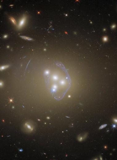 Слияние галактик в 1,4 млрд световых лет от Земли: фототрофей «Хаббла»