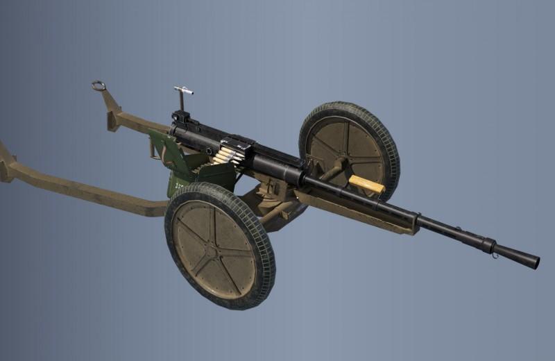 Три бронебойных буквы: самый мощный пулемет в мире
