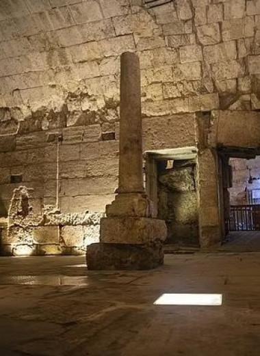 В Иерусалиме нашли роскошный банкетный зал времен Христа