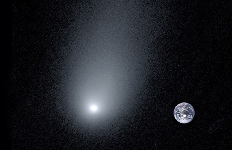 Комета Борисова оказалась богата замороженной окисью углерода