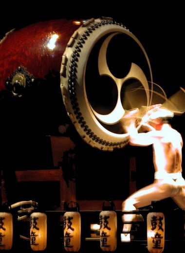 Барабан по-японски: где в Москве послушать тайко?