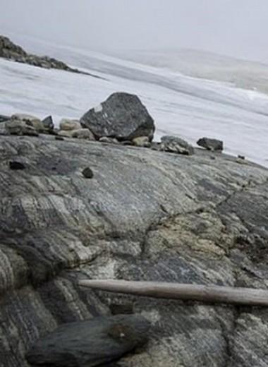 Тающие ледники в Норвегии обнажили горный перевал викингов