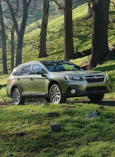 Японский бог: тест-драйв Subaru Outback