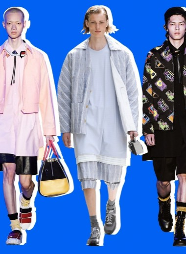 5 лучших показов с первых мужских недель моды