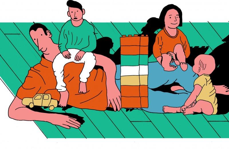 Каково это — быть отцом в декрете. Истории русских мужчин, которые выбрали уход за детьми вместо работы