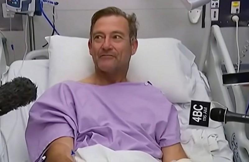 54-летний турист упал с водопада и полз домой почти три дня со сломанной ногой и кистью