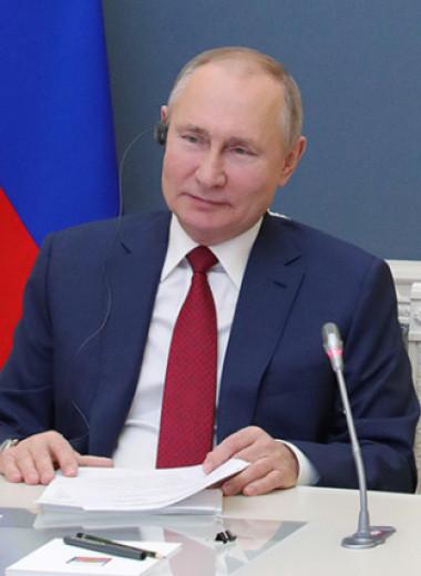 Мирная речь военного времени: к кому обращался Владимир Путин в Давосе