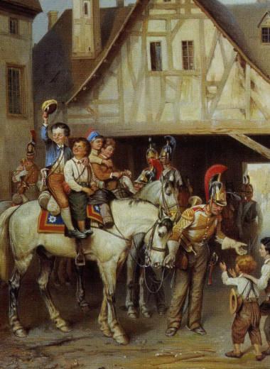 Образ Германии врусском искусстве. Часть 1