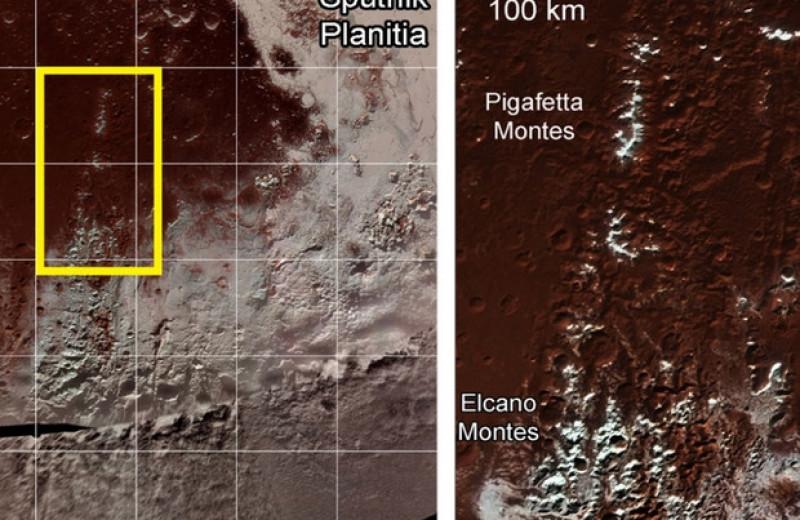 Ледяные вершины Плутона образовались из-за высотной разницы в количестве метана