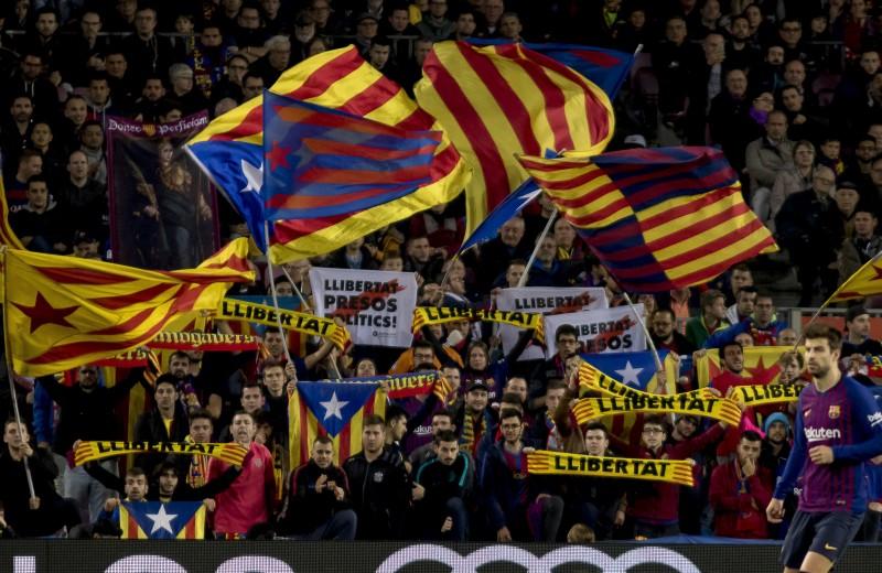 Как протесты в Каталонии влияют на футбольный клуб «Барселона»