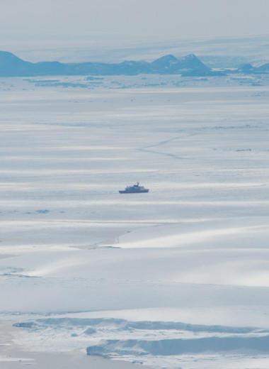 В Антарктиде нашли аномально горячую точку