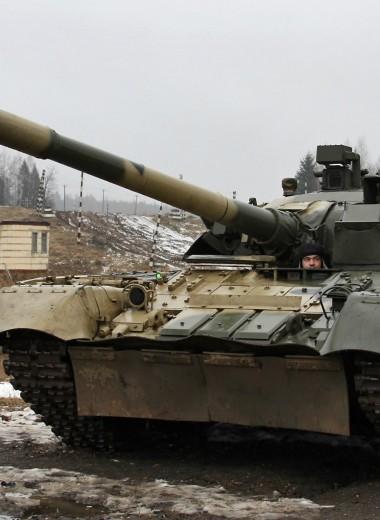Советский танк, стрелявший по «Белому дому»: Т-80