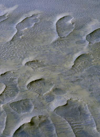 NASA обнаружило древние дюны на Марсе. Им миллиард лет!