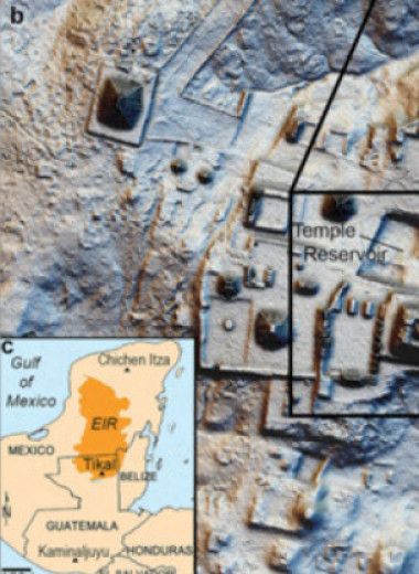 Археологи нашли у древних майя прибрежные парки