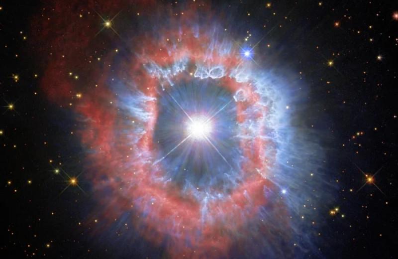«Хаббл» запечатлел последствия мощного звездного взрыва