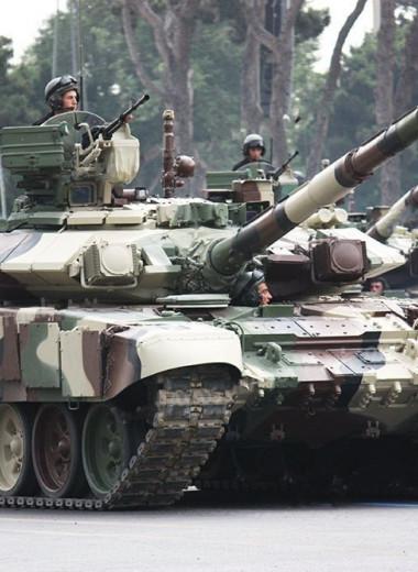 У каких стран на вооружении стоят русские и советские танки