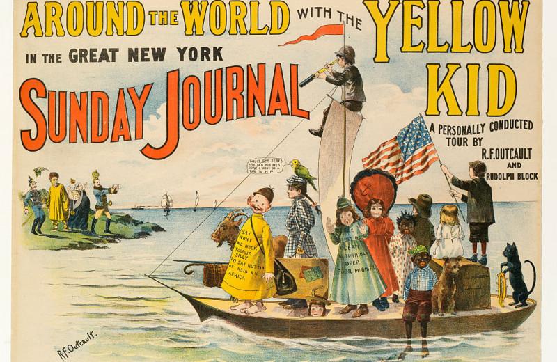 Откуда взялся термин «желтая пресса»