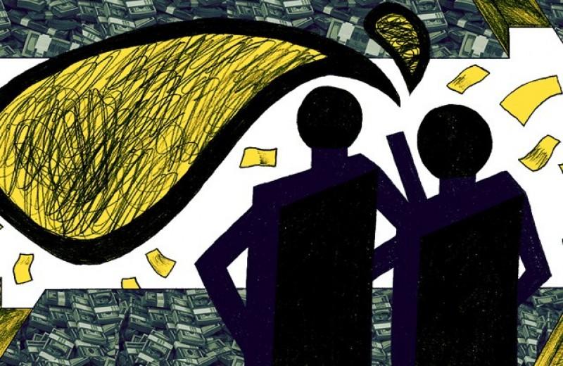 Деньги — склока, а без них плохо. Русский язык и финансы