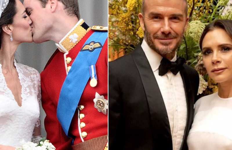 Самые забавные конфузы на свадьбах Кейт Миддлтон, Виктории Бекхэм и других звезд