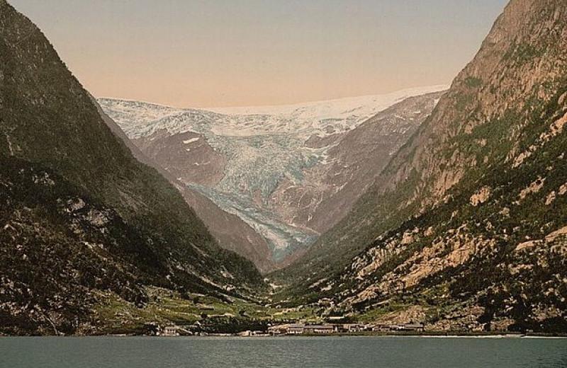 Плейстоценовый ледник сточил Скандинавское нагорье