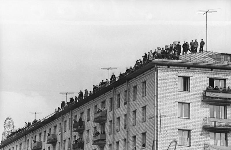 Прилет Гагарина и еще 4 ретрофотографии с интересной историей